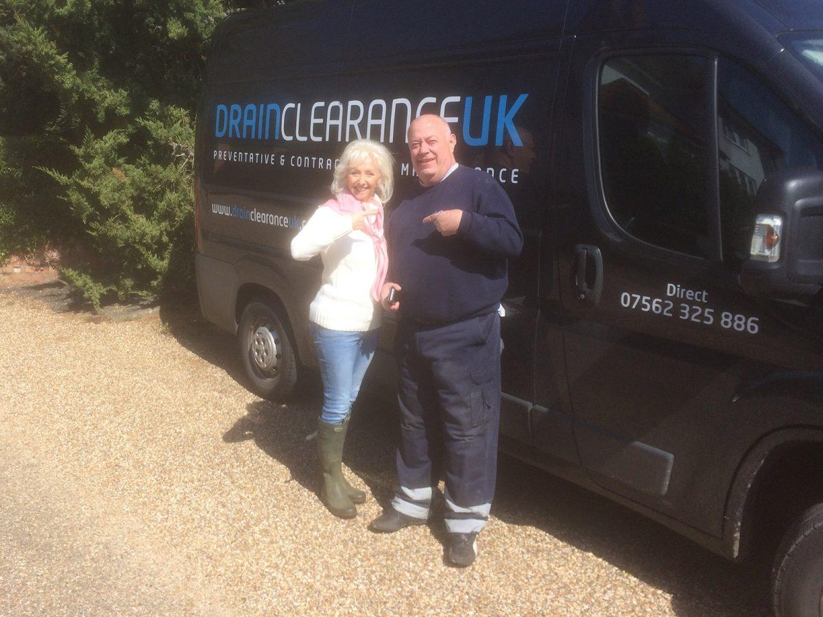 Drain Clearance & Debbie McGee (2)