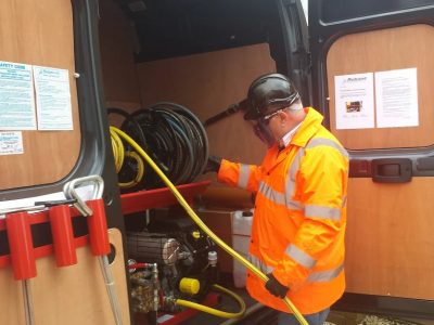 commercial drain servicing berkshire 01